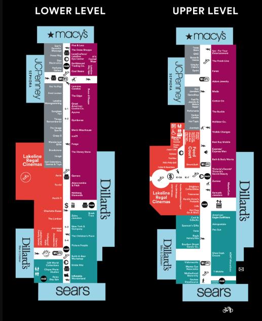 Lakeline Mall Map eventhub